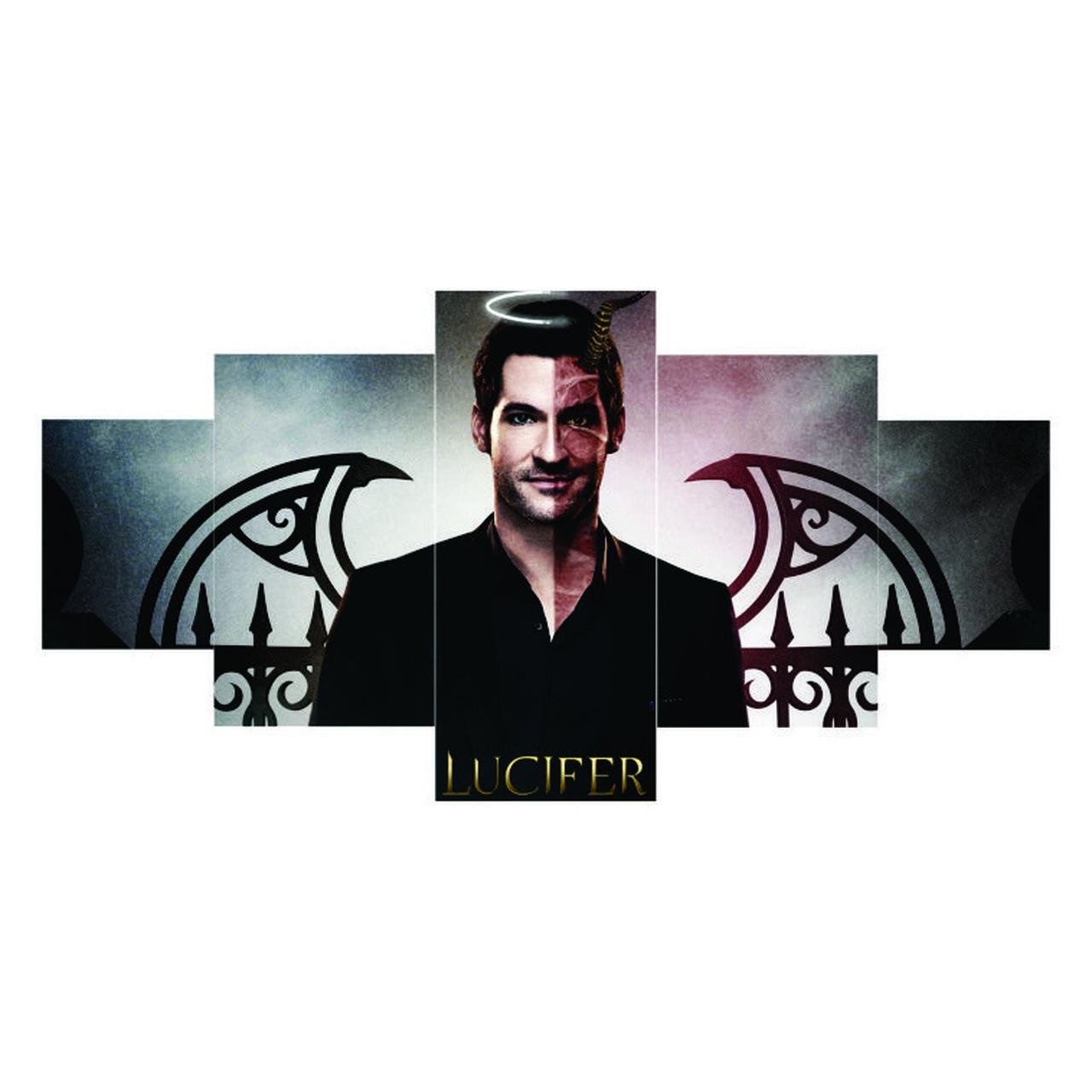 Quadro Mosaico - Lucifer