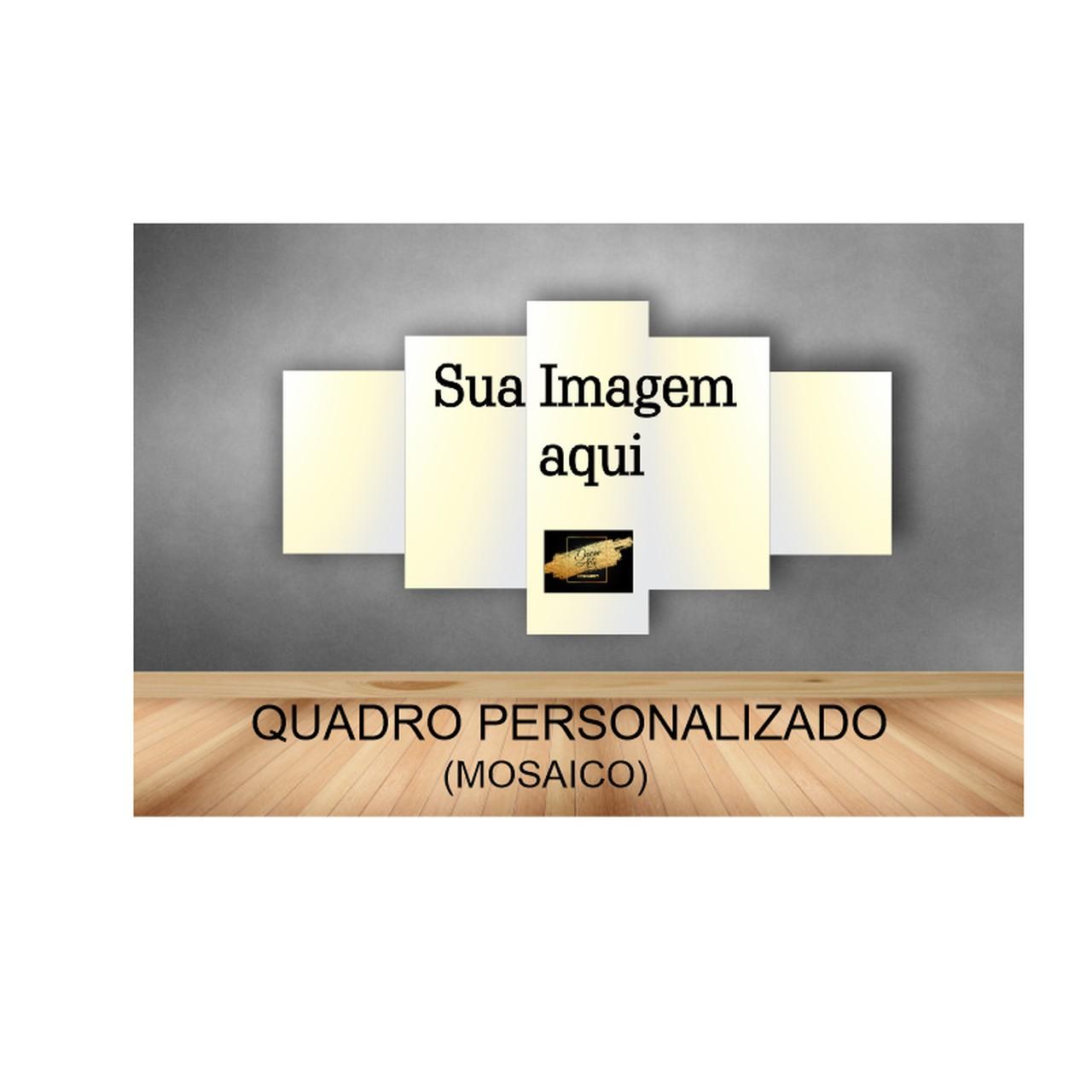 Quadro Mosaico Personalizado - 5  Telas