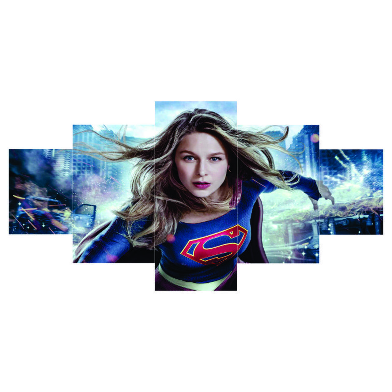 Quadro Mosaico -  Super Girl