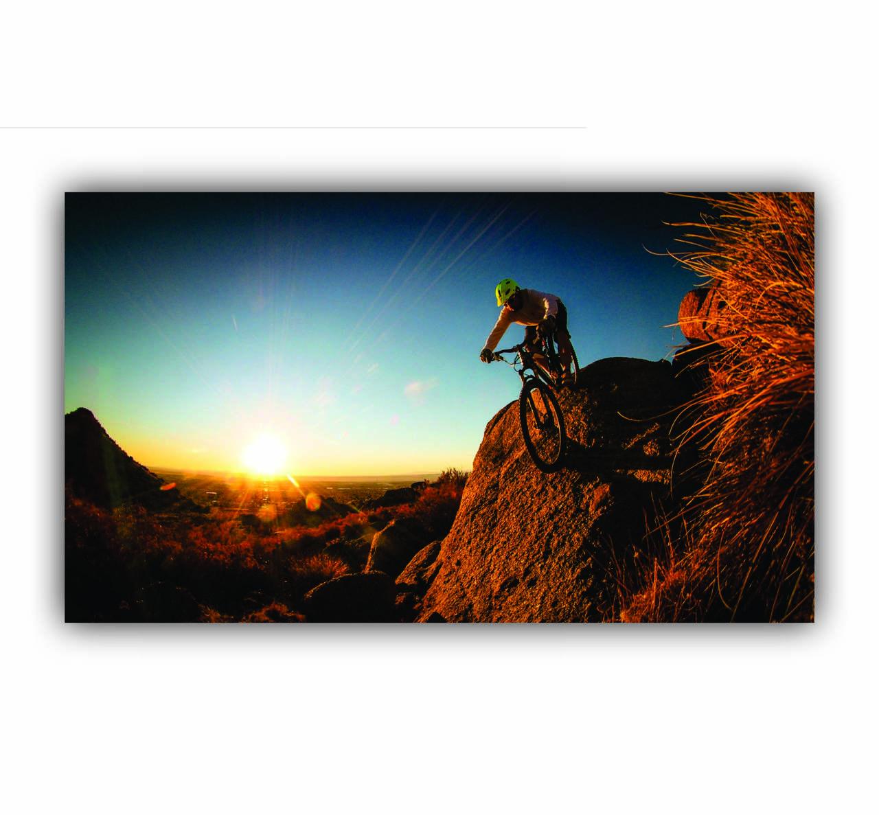 Quadro Mountain Bike Estilo de Vida - Tela Única