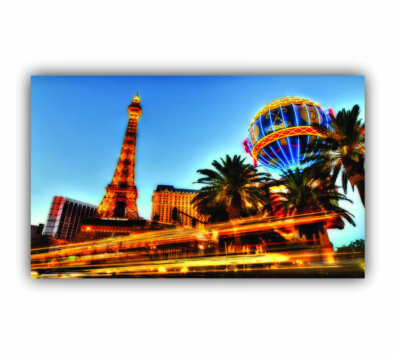 Quadro Vegas Luxo - Tela Única