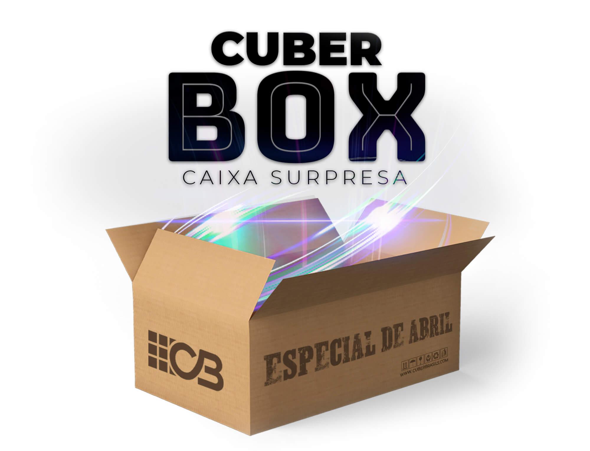 CUBER BOX - CAIXA SURPRESA ABRIL