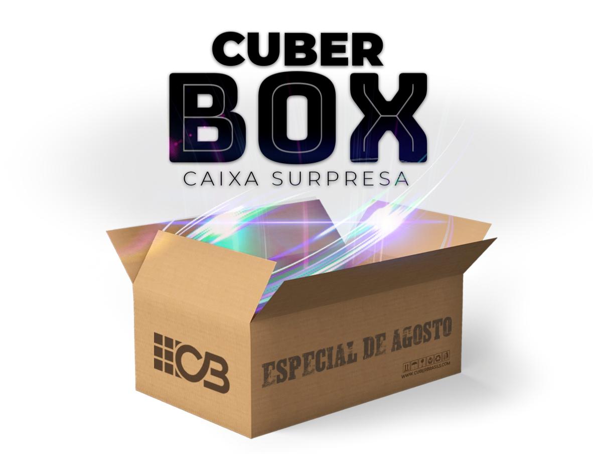 CUBER BOX - CAIXA SURPRESA AGOSTO