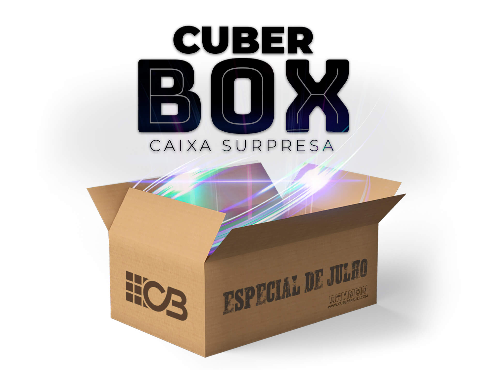 CUBER BOX - CAIXA SURPRESA JULHO