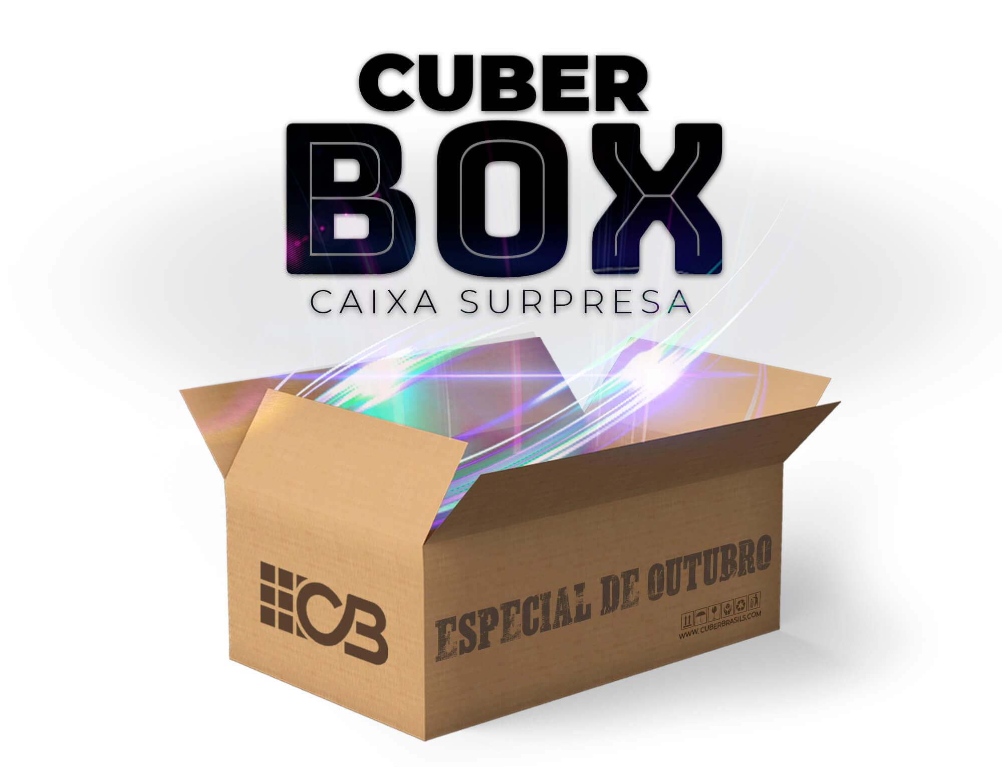 CUBER BOX - CAIXA SURPRESA OUTUBRO - ESPECIAL DIA DAS CRIANÇAS