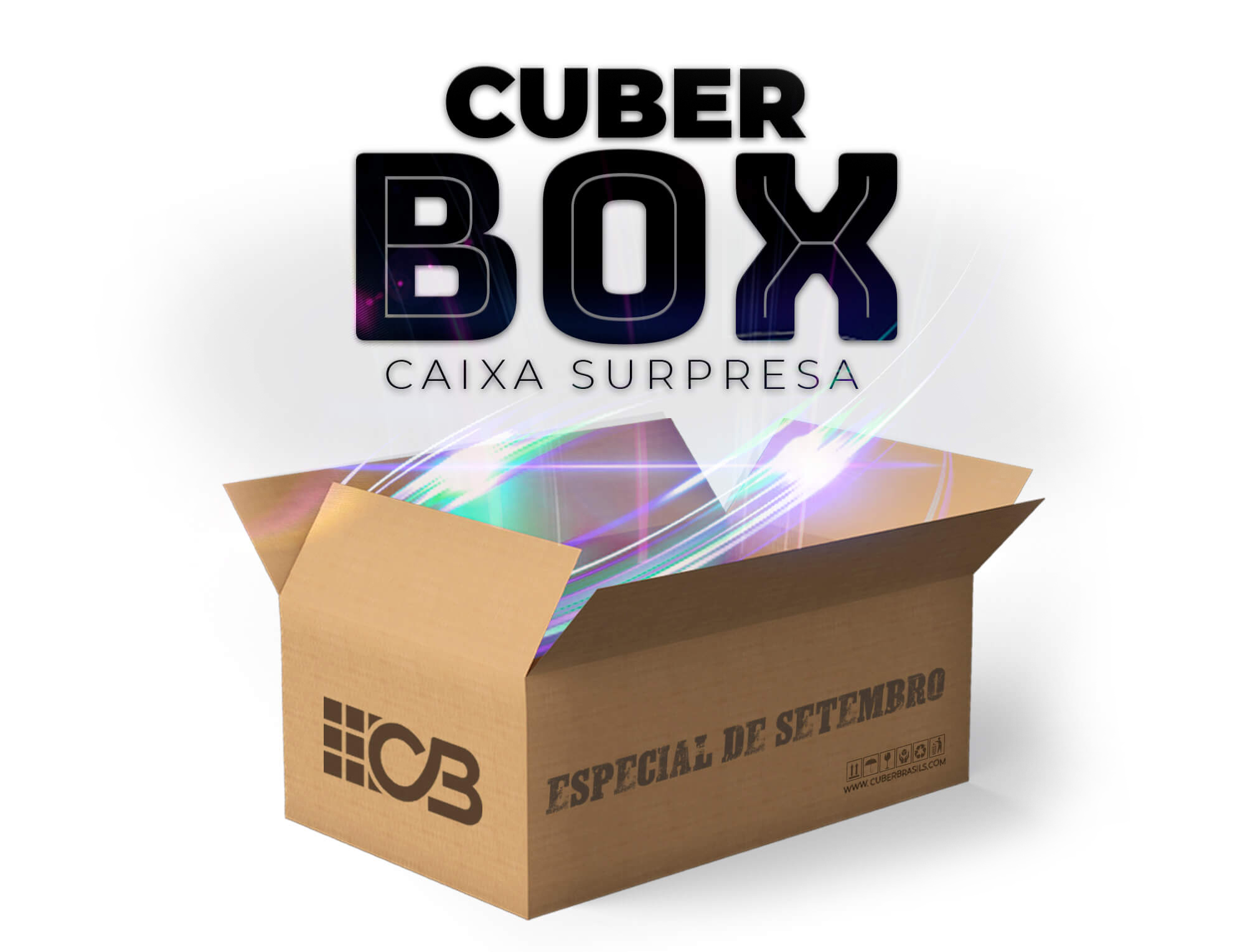 CUBER BOX - CAIXA SURPRESA SETEMBRO