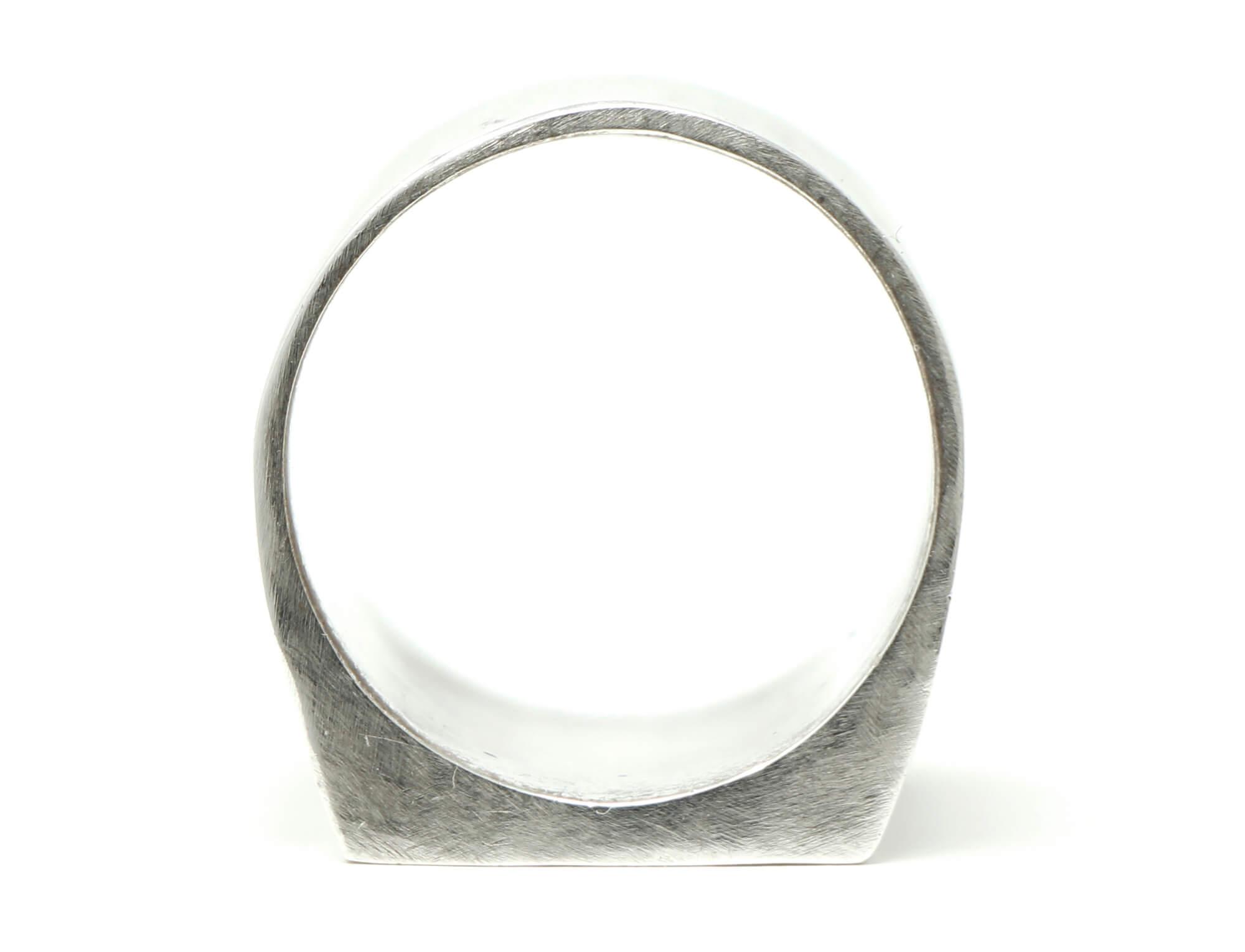 CUBER RING - JOIA PRATA 950