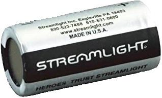 Bateria de Lítio CR 123A - Streamlight