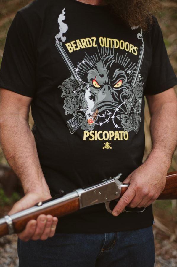 Camiseta TS30 - Beardz Outdoors