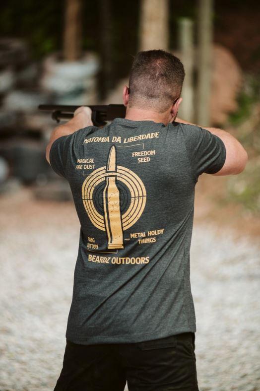 Camiseta TS36 - Beardz Outdoors