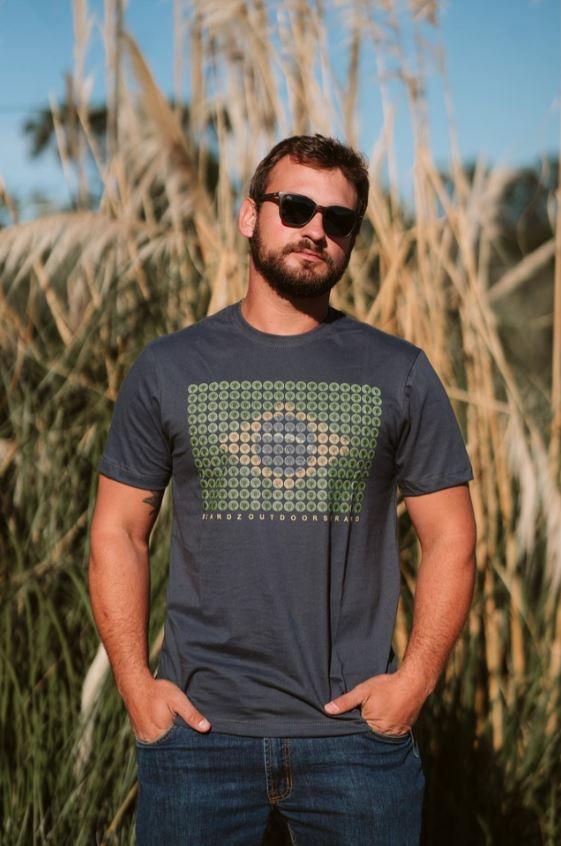 Camiseta TS54 - Beardz Outdoors