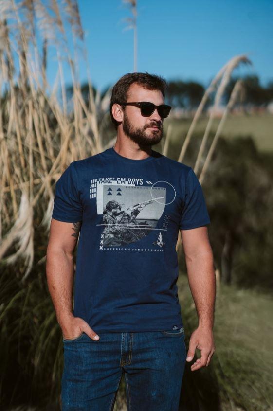Camiseta TS55 - Beardz Outdoors
