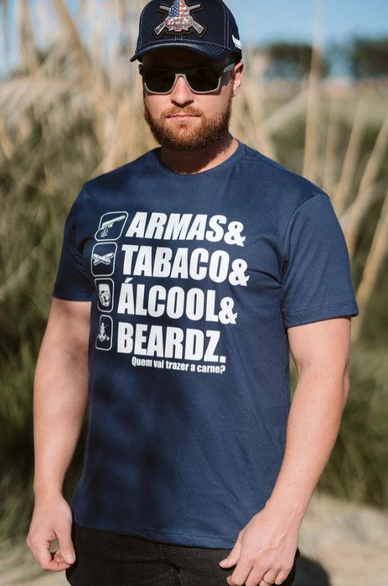 Camiseta TS65 - Beardz Outdoors
