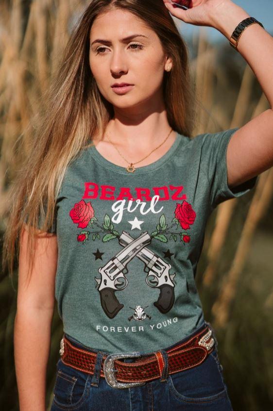 Camiseta TS83 - Beardz Outdoors