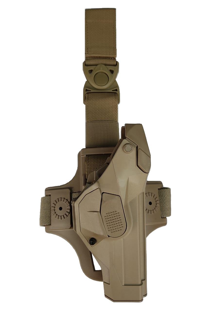 Coldre PRF Vega Thigh Kit - G 17/22 - Vega Holster