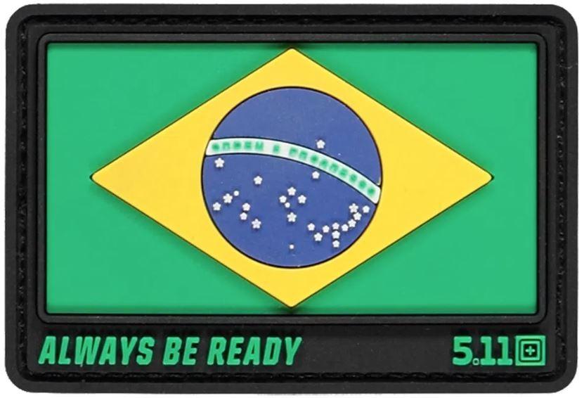 Patch Bandeira do Brasil - 5.11