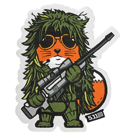 Patch Tactical Fox Sniper - 5.11
