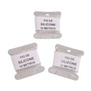 FIO DE SILICONE STRETCH 0,6mm - 10 METROS