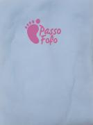 MEIAS DE SEDA AZUL CANDY - PASSO FOFO