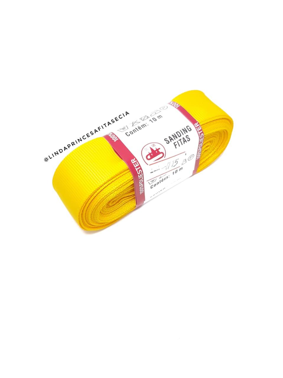 FITA SANDING 22 mm - Cor: 115 Amarelo Sol.