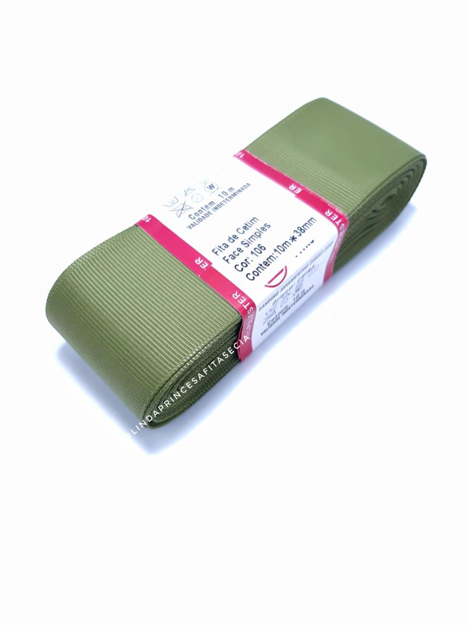 FITA SANDING 38 mm - Cor: 106 Verde Oliva.