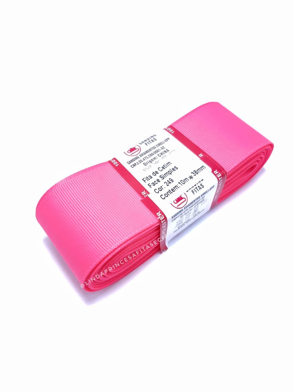 FITA SANDING 38 mm - Cor: 249 Rosa Neon.