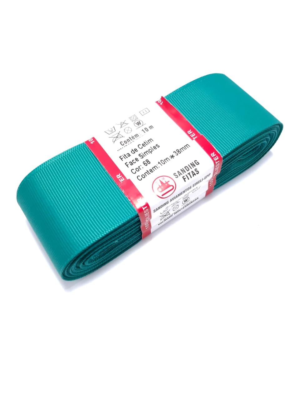 FITA SANDING 50mm (05 METROS) - Cor: 068 Verde Thiffany.
