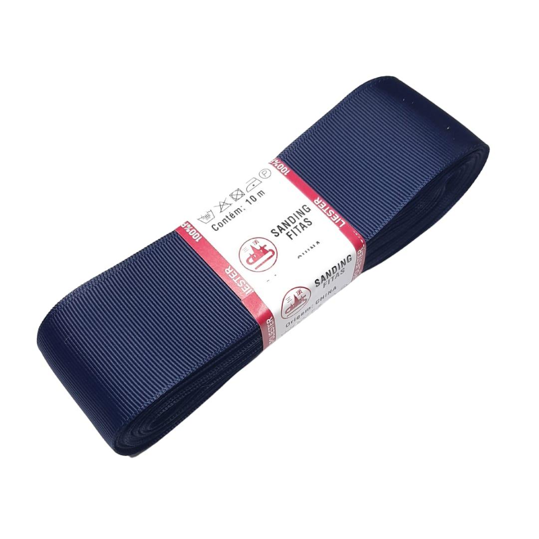 FITA SANDING 5mm (05 METROS) - Cor: 159 Azul Marinho.
