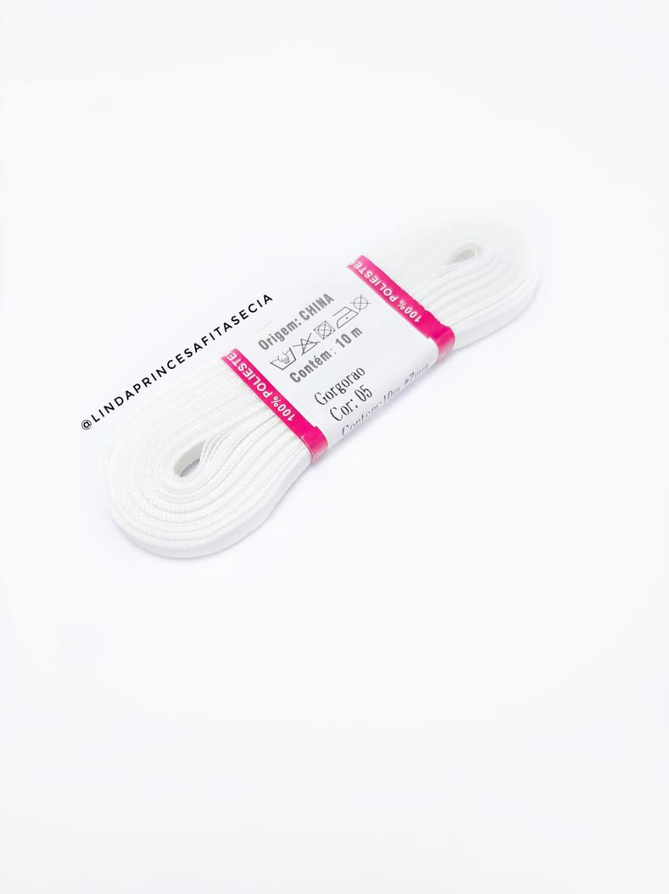 FITA SANDING 7 mm - Cor: 005 Branco,