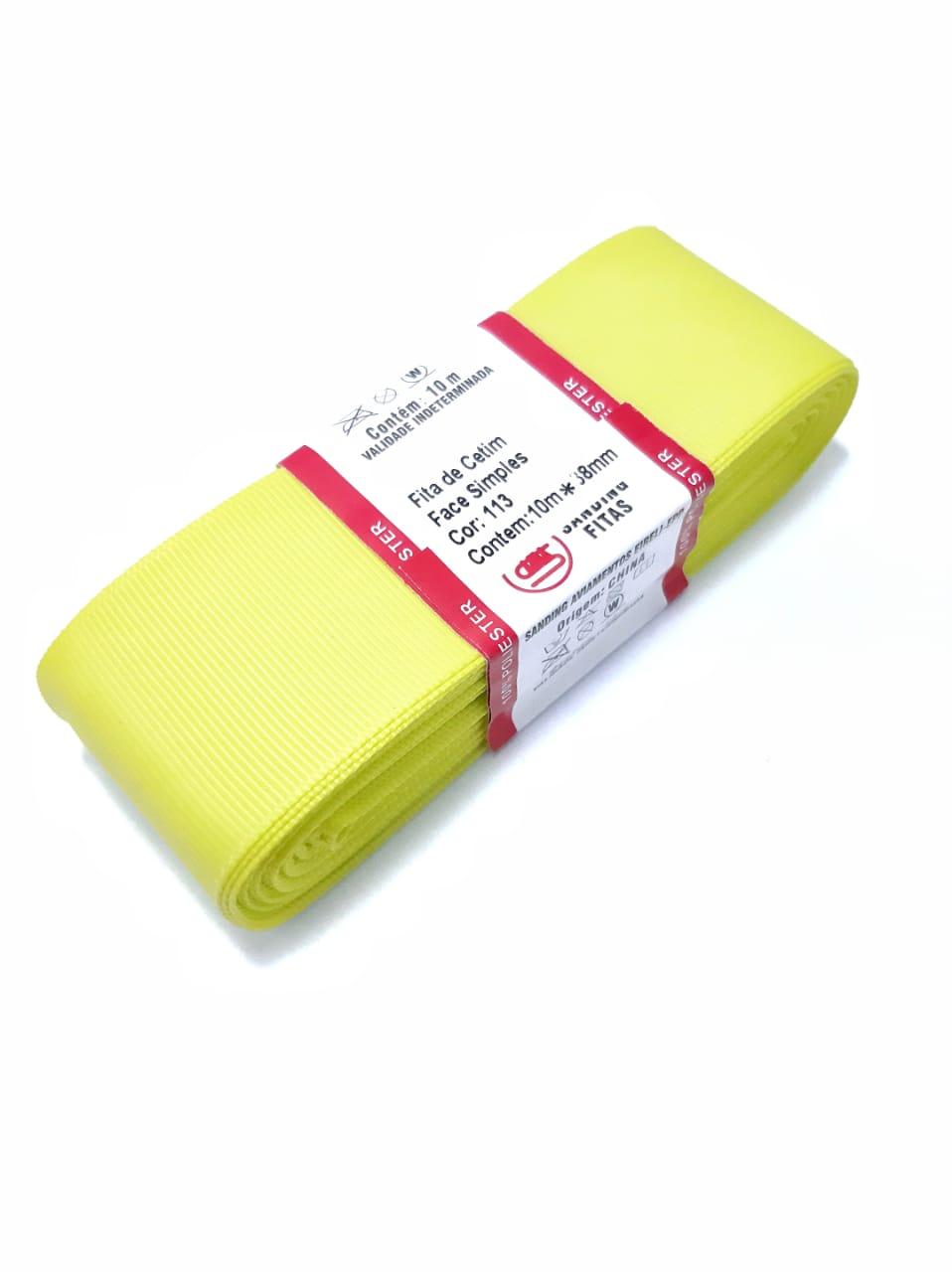 FITA SANDING - Cor: 113 Amarelo Limão
