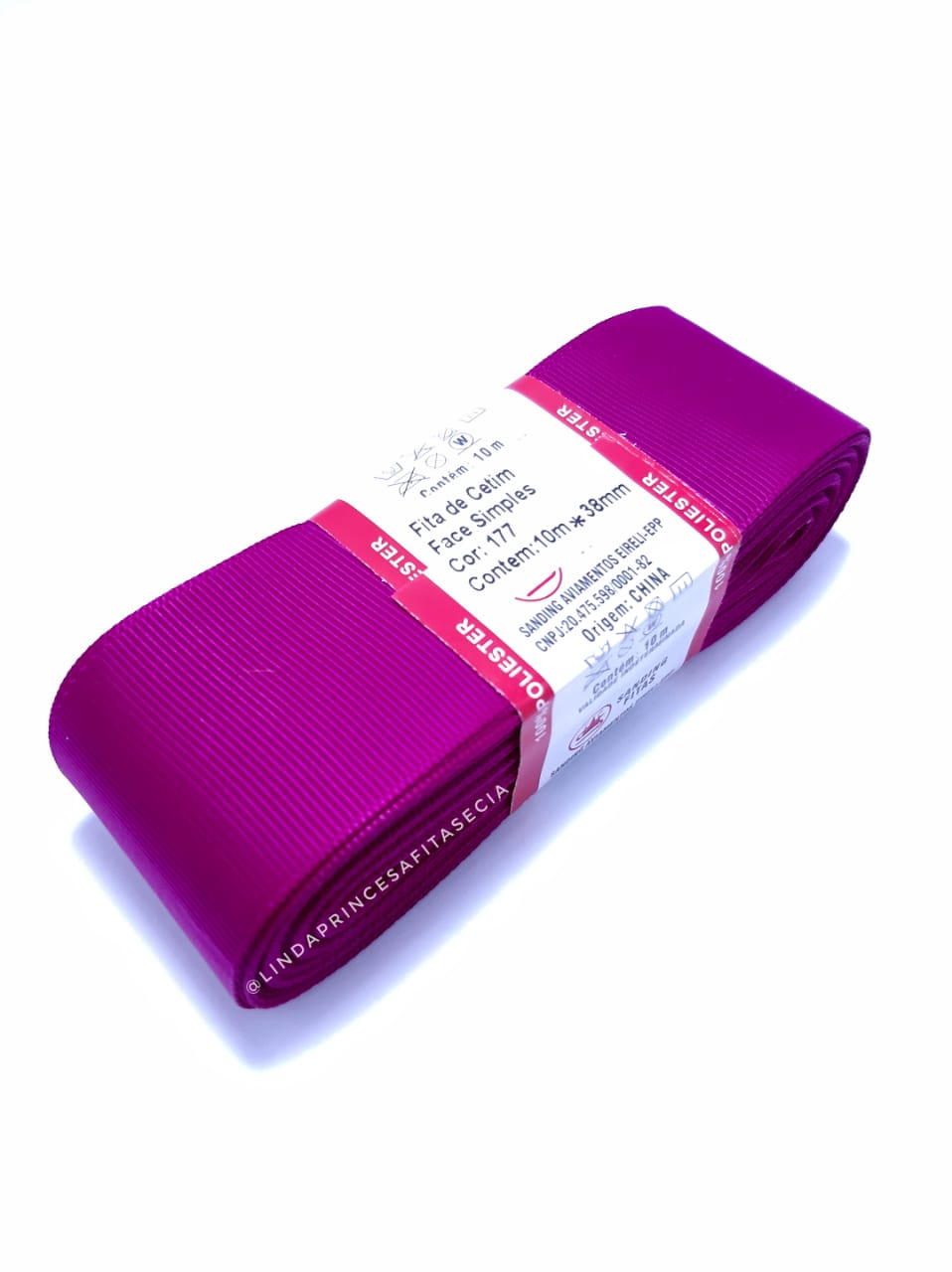 FITA SANDING - Cor: 177 Red Violet