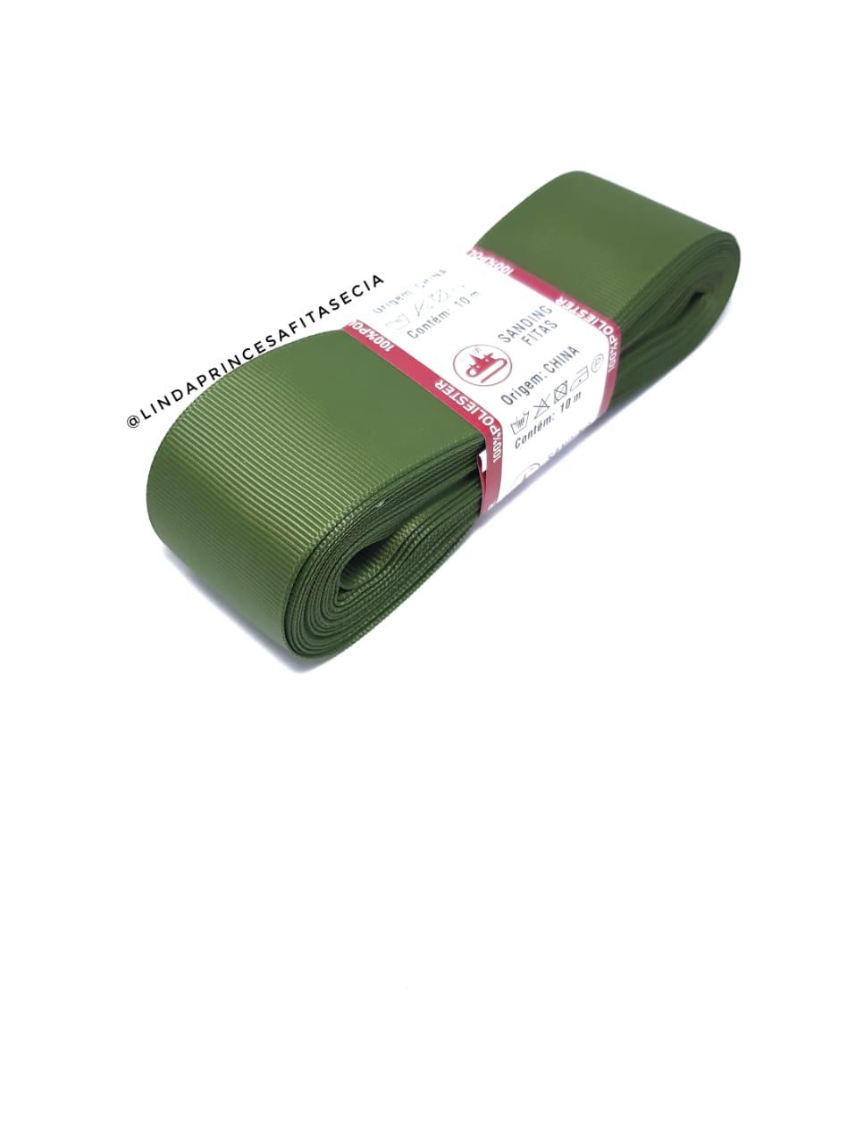 FITA SANDING - Cor: 296 Verde Militar