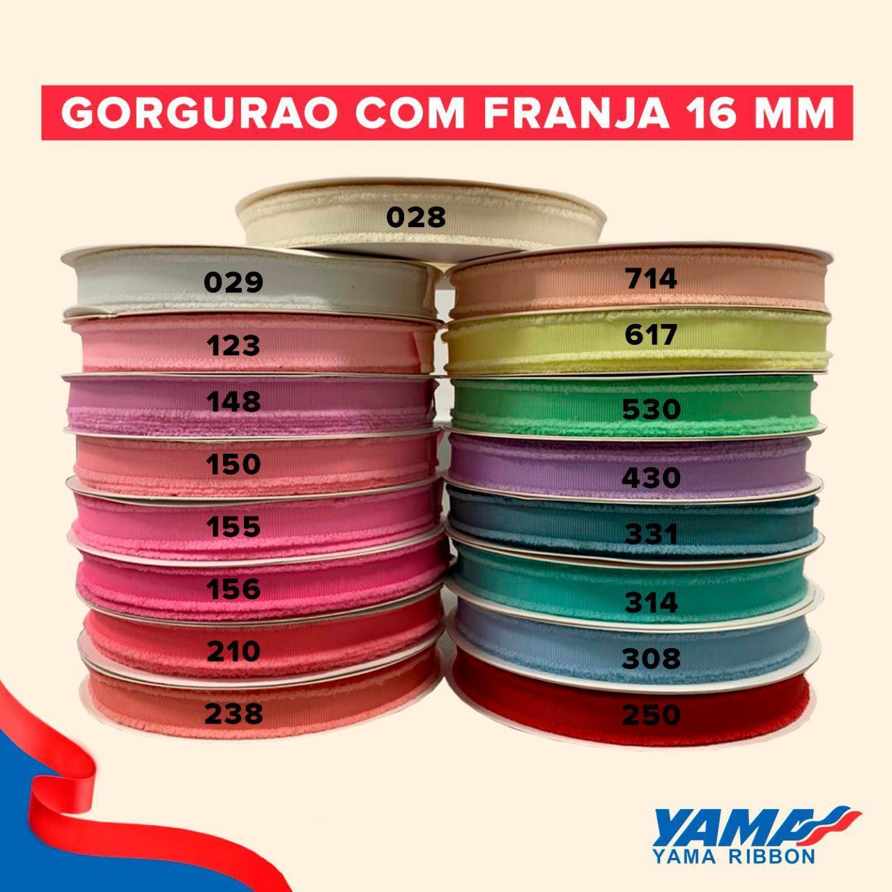 FITAS YAMA 16MM FRANJINHAS - 3 METROS