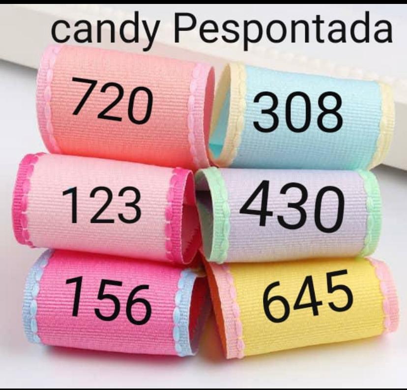 FITAS YAMA 38MM CANDY PESPONTADAS - METRO