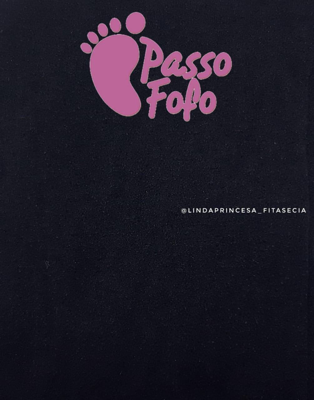 MEIAS DE SEDA PRETA - PASSO FOFO