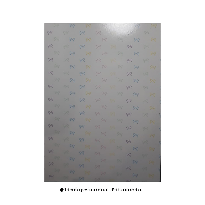 PAPELETAS PARA FAIXAS (15 X 21CM) CORES CANDY - 10 UNIDADES