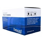 Ribbon Datacard Preto k p/ SD, SP - 1500 impressões com Kit Limpeza