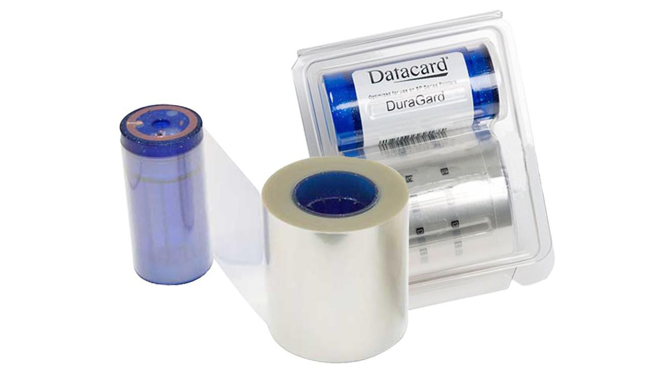 DURAGARD LAMINATE, 1.0 MIL, CLEAR, FULL CARD WITH SMART CARD WINDOW - CR805 LM
