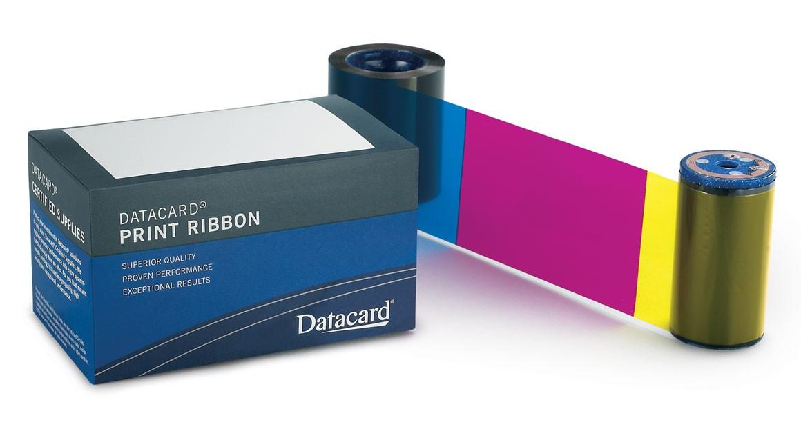 Ribbon Datacard YMCKT (500 impressões) c kit limpeza para impressorora SP35,SP55,SD260/360