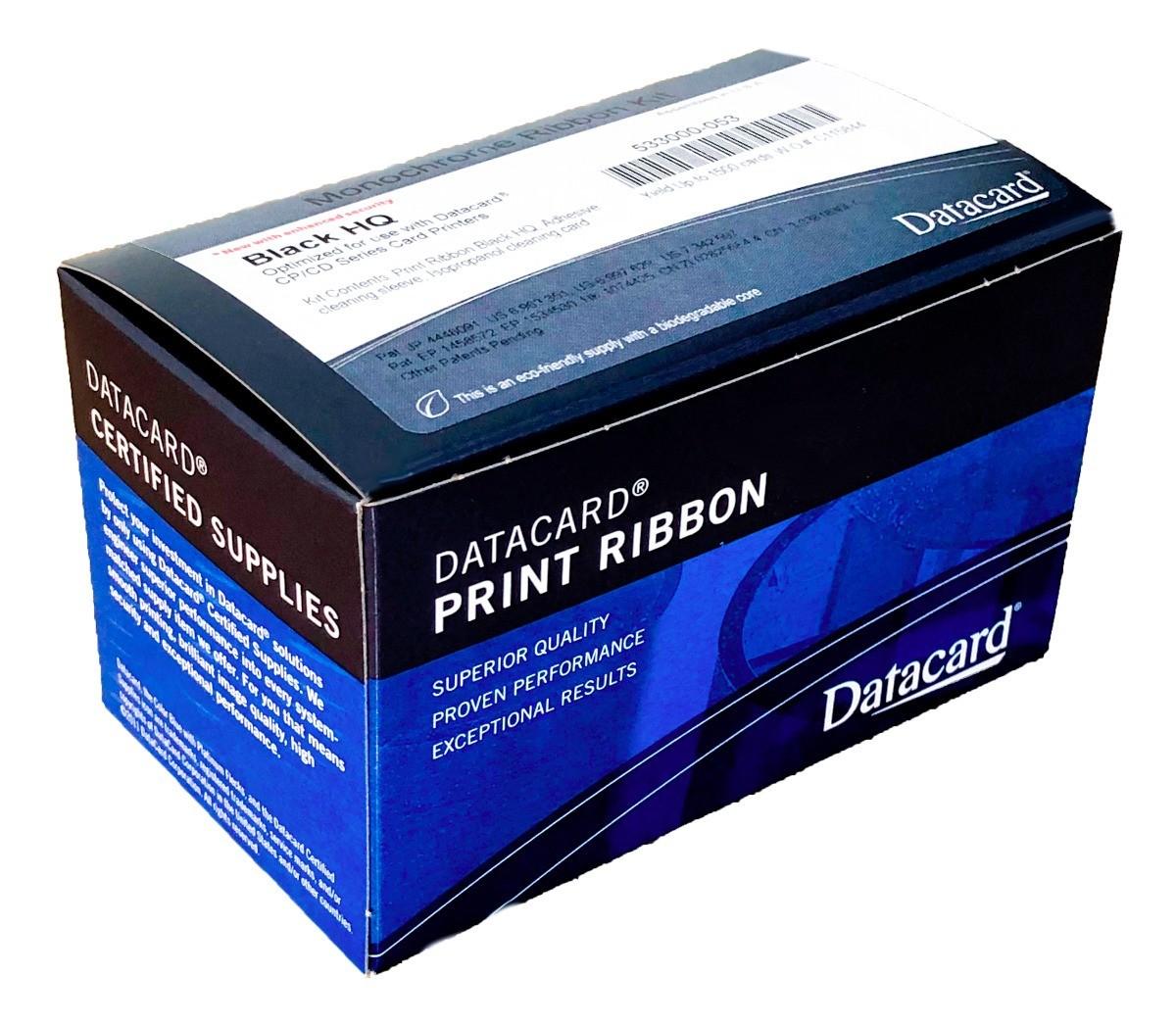 Ribbon de Impressão Preto (K) p/ CD800 (1500 impressões)