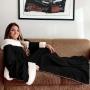 Cobertor com Mangas com Sherpa Casa Dona