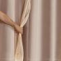 Cortina Blackout Pvc com Voil Tecido 2,00 M X 1,40 M em 4 Opções de Cores - Casa Dona
