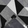 Tapete Jacquard Antiderrapante Mosaico Cores Casa Dona
