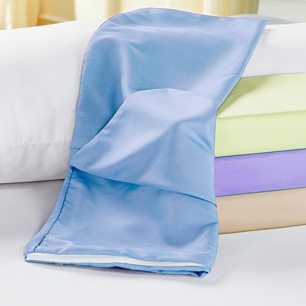 Capa para Travesseiro de Corpo Azul Casa Dona