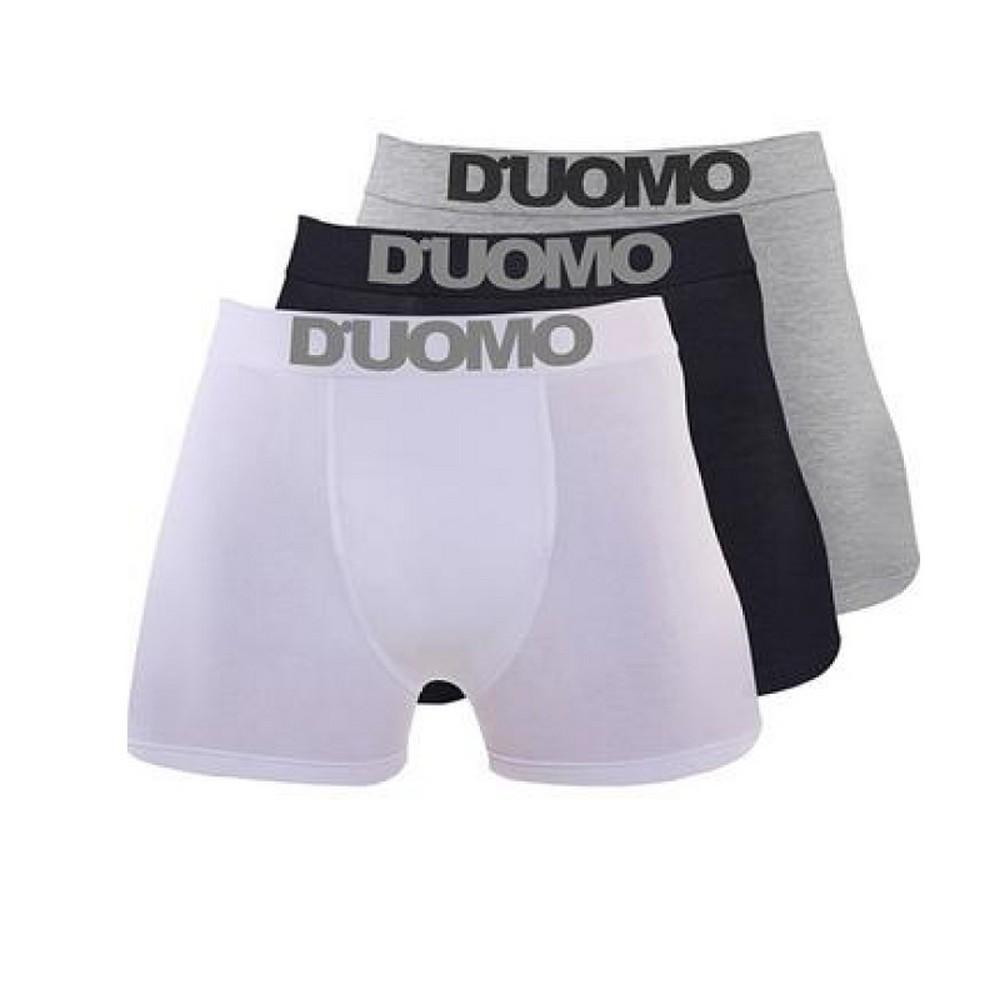 Kit com 4 Cuecas D UOMO Boxer Com Costura M