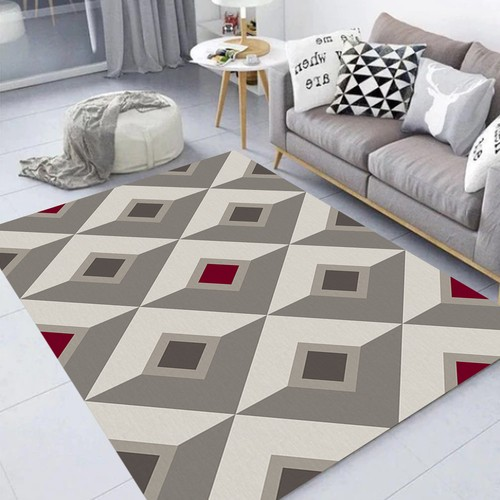 Tapete Shapes Geométrico para Sala Casa Dona