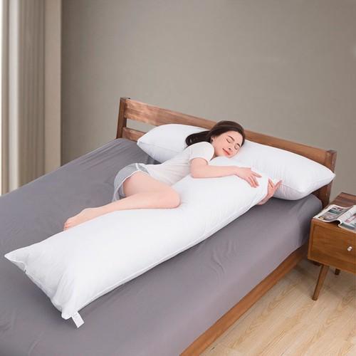 Travesseiro de Corpo Gigante Durma Nas Nuvens com Fronha 100% Algodão Casa Dona