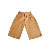 Calça Camel Wide Leg Infantil