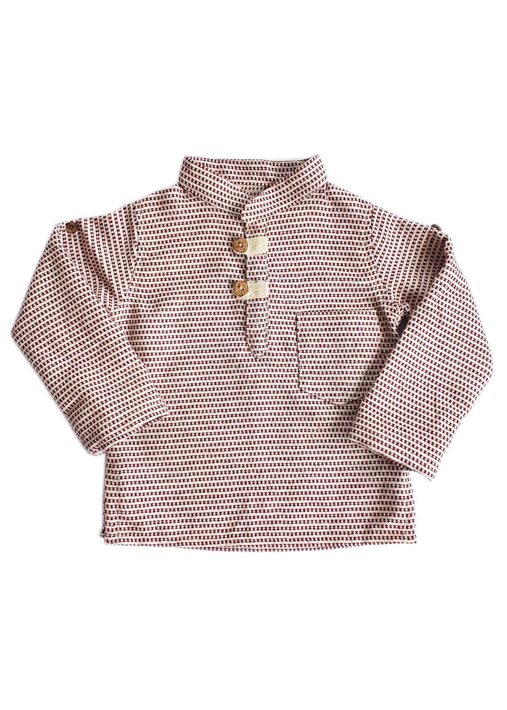 Camisa Infantil Antúrios Manga Longa