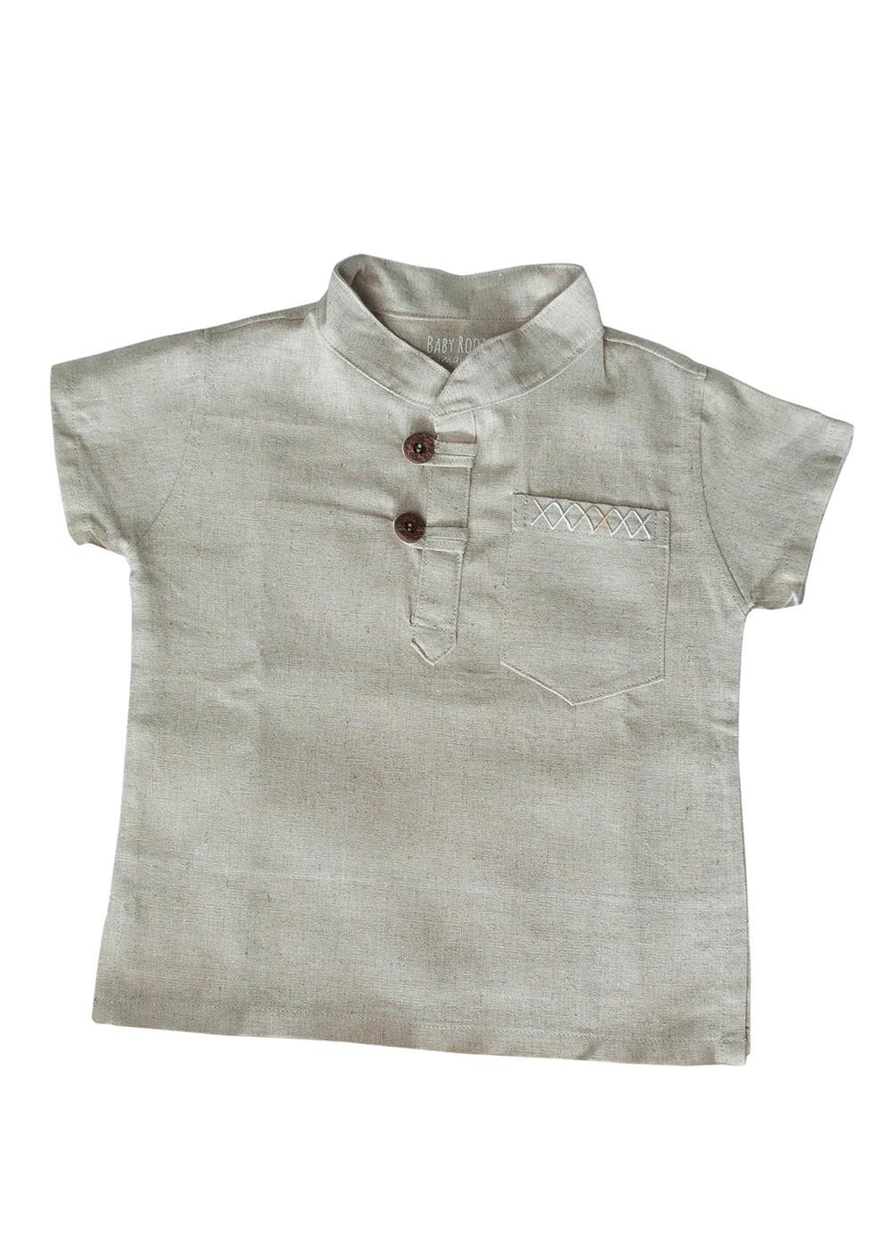 Camisa Indiana Bege